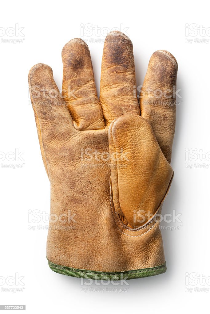 Work glove stock photo