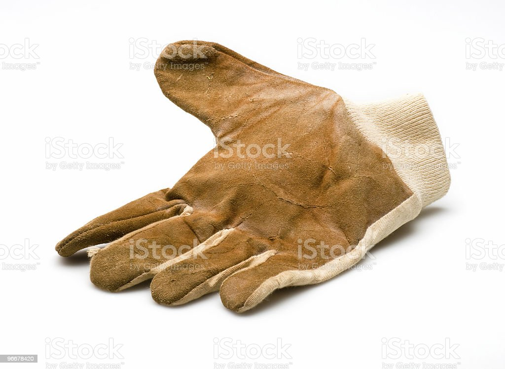 work glove royalty-free stock photo