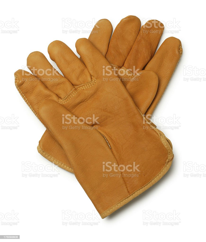 Work Gloves stock photo