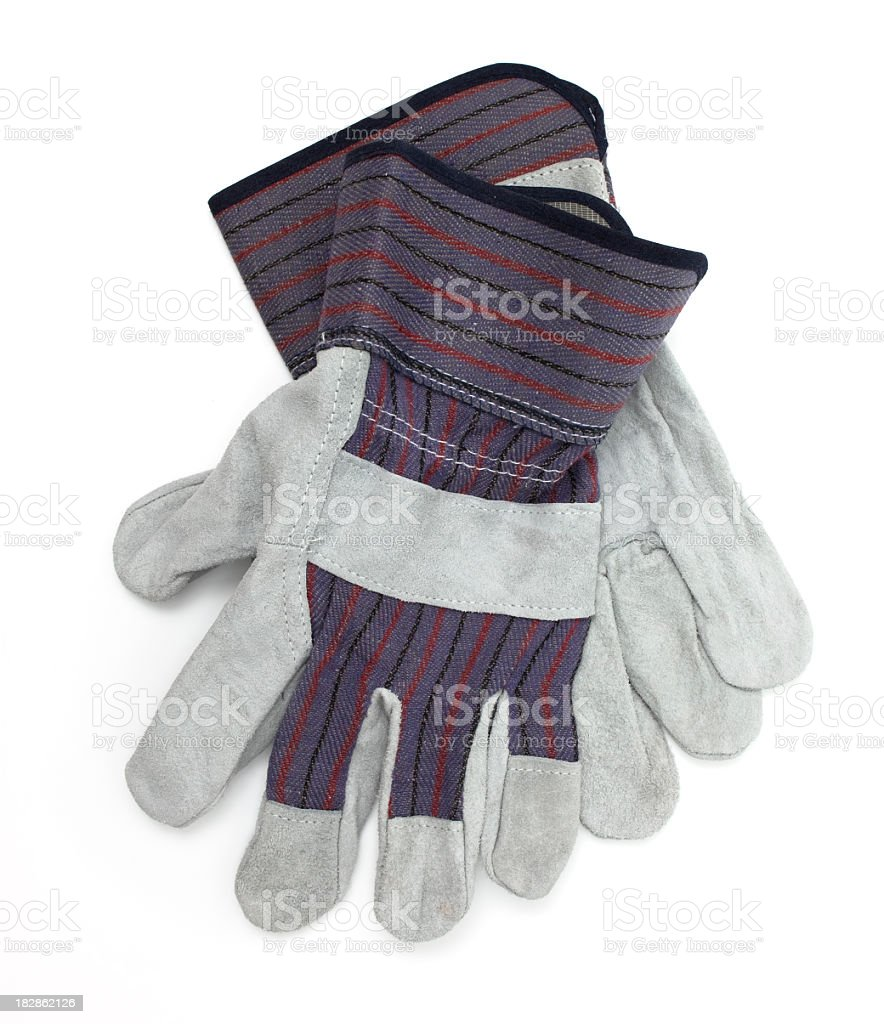 Work Gloves royalty-free stock photo