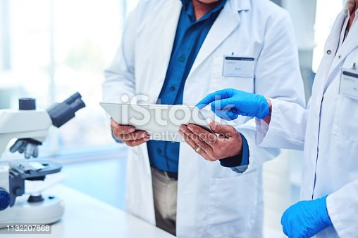 istock Work in a lab? There are apps for that 1132207868