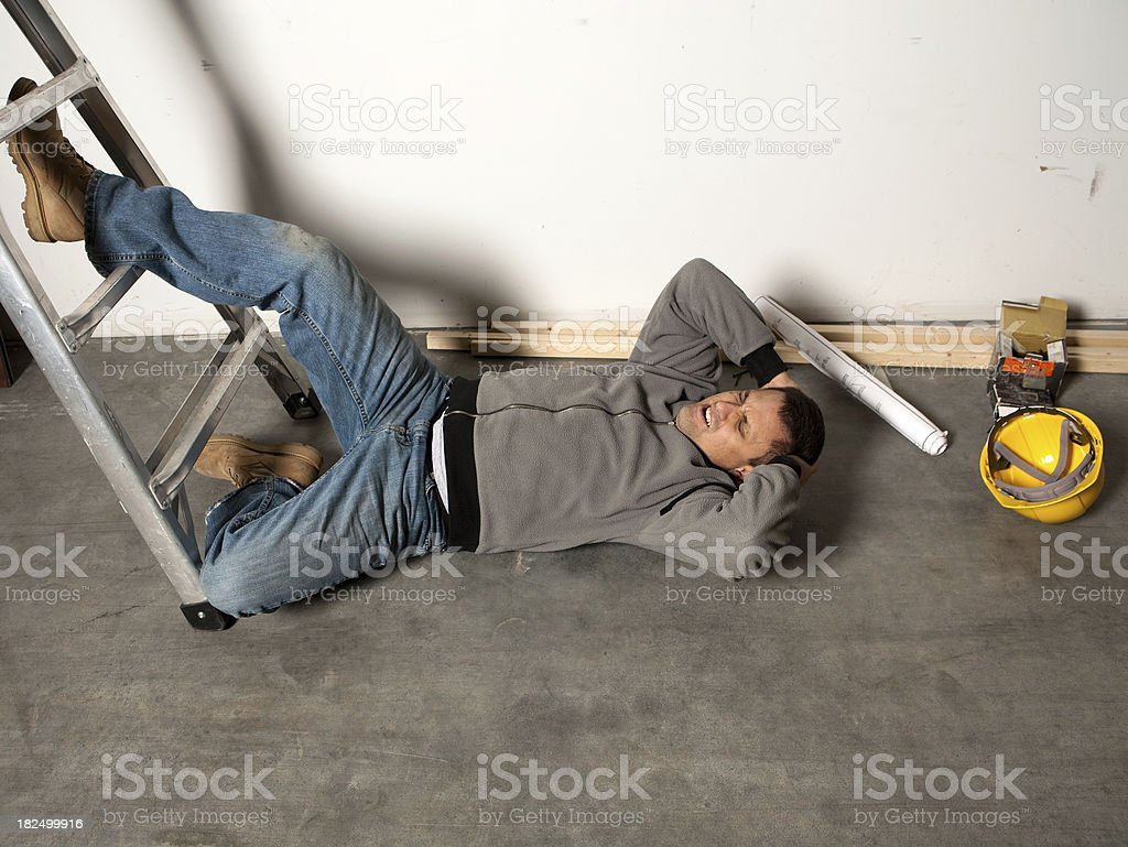 Work Injury stock photo