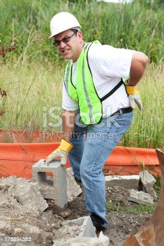 istock Work Injury Series 173894583