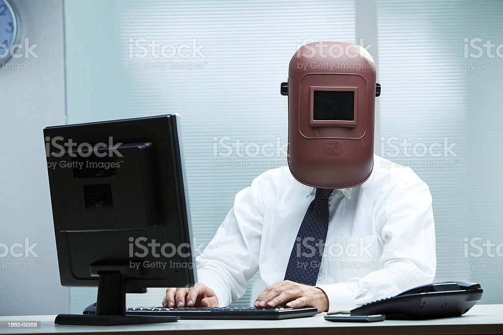 Work is getting weird, isn't it? royalty-free stock photo