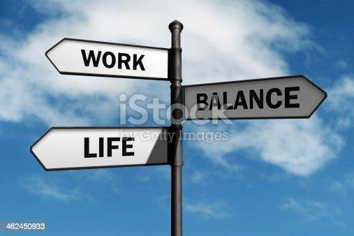 182362845 istock photo Work life balance choices 462450933