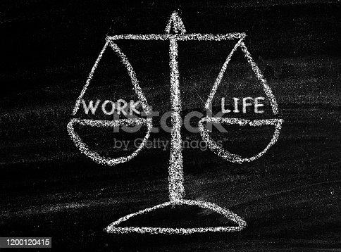 171274866 istock photo Work life balance 1200120415