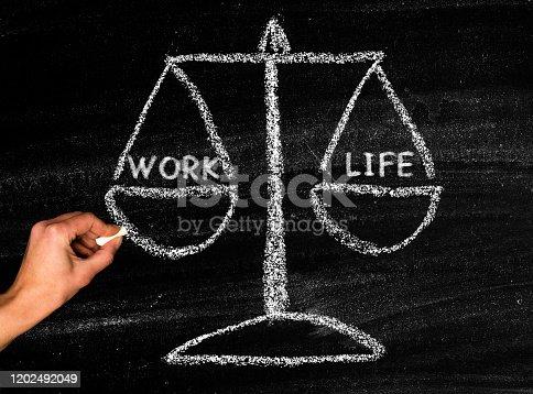 171274866 istock photo Work life balance 1202492049