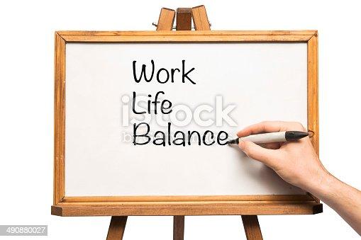 182362845 istock photo Work Life Balance 490880027