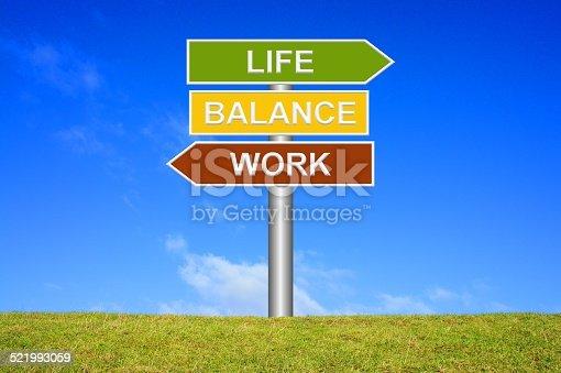182362845 istock photo Work Life Balance 521993059