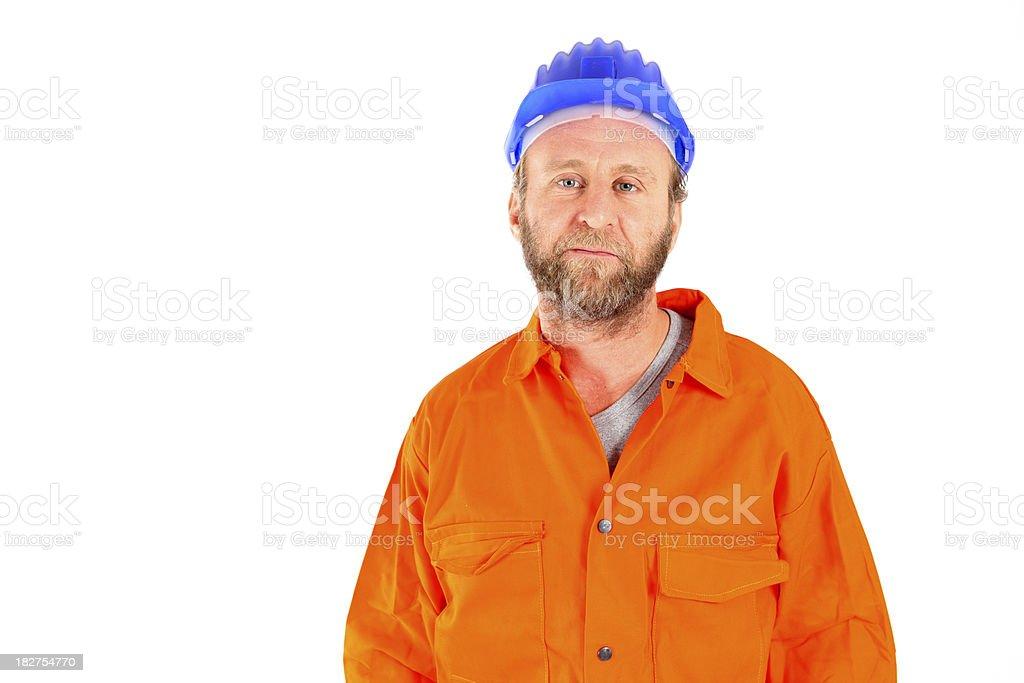 Work man stock photo