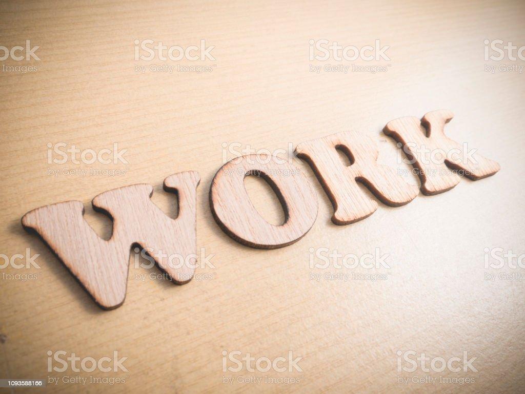 Trabajo Concepto De Citas Palabras Motivacionales Foto De