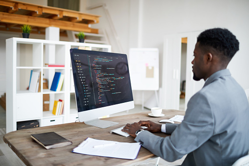 Work Of Itdeveloper Stock Photo - Download Image Now