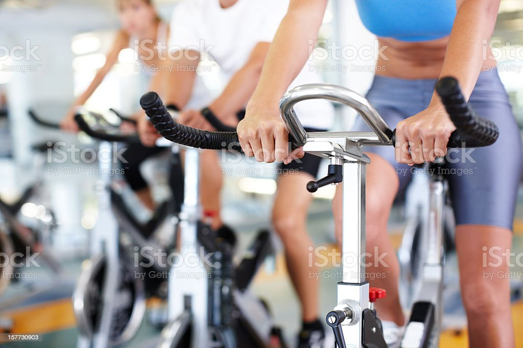 Work out like a winner royalty-free stock photo