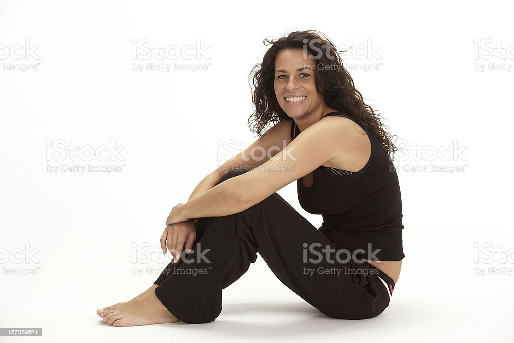 Work out  pause (XXL) royalty-free stock photo