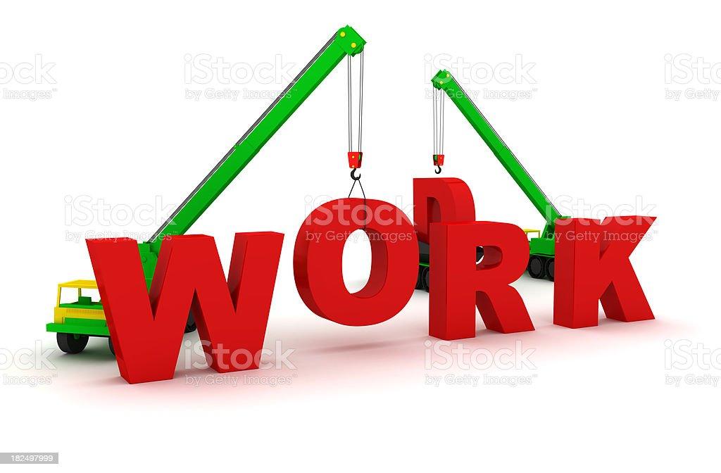 Work royalty-free stock photo
