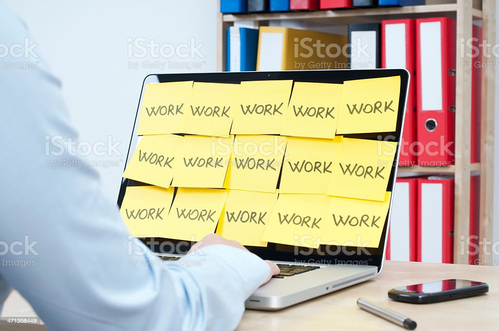 work royalty-free stock photo