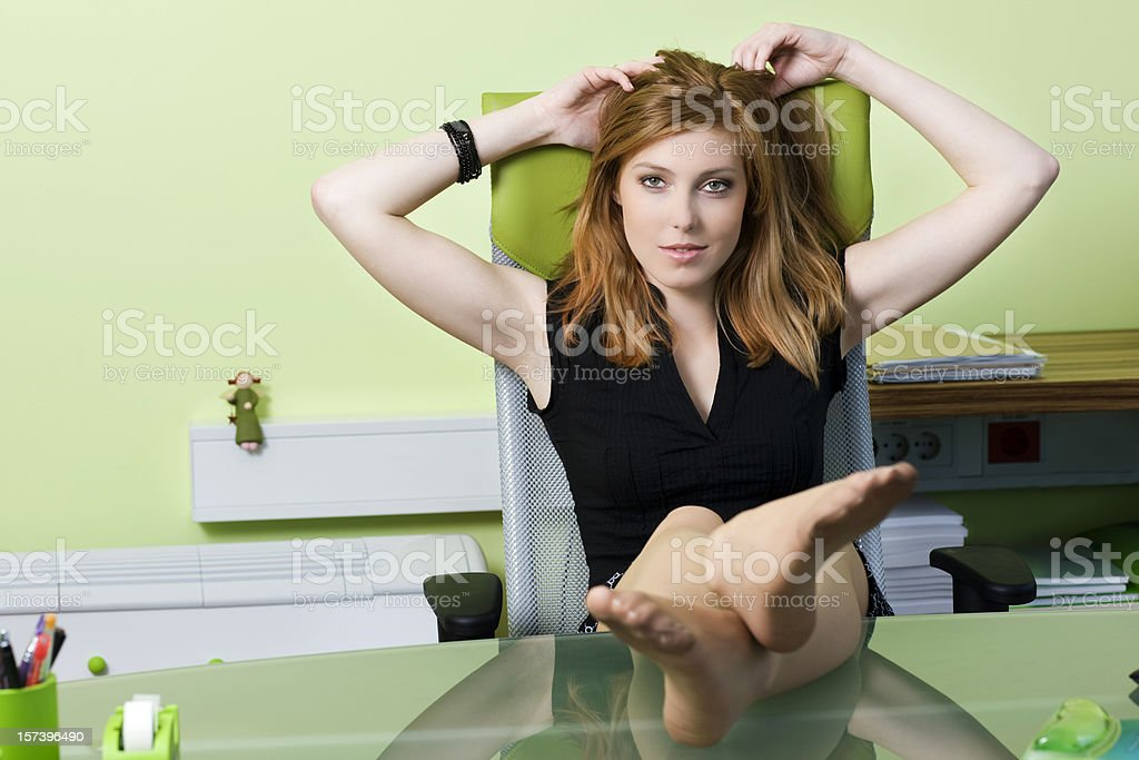 Work relaxation royalty-free stock photo