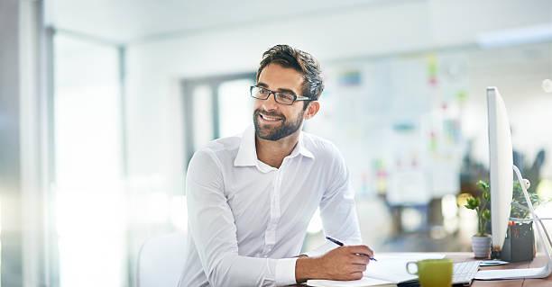 Work smarter, not harder stock photo