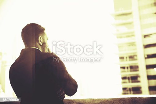 istock Work stress is only elevating my smoking habit 682759504