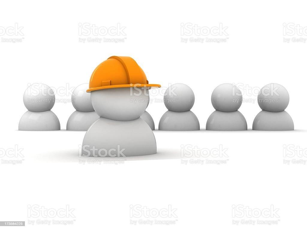 Work team royalty-free stock photo