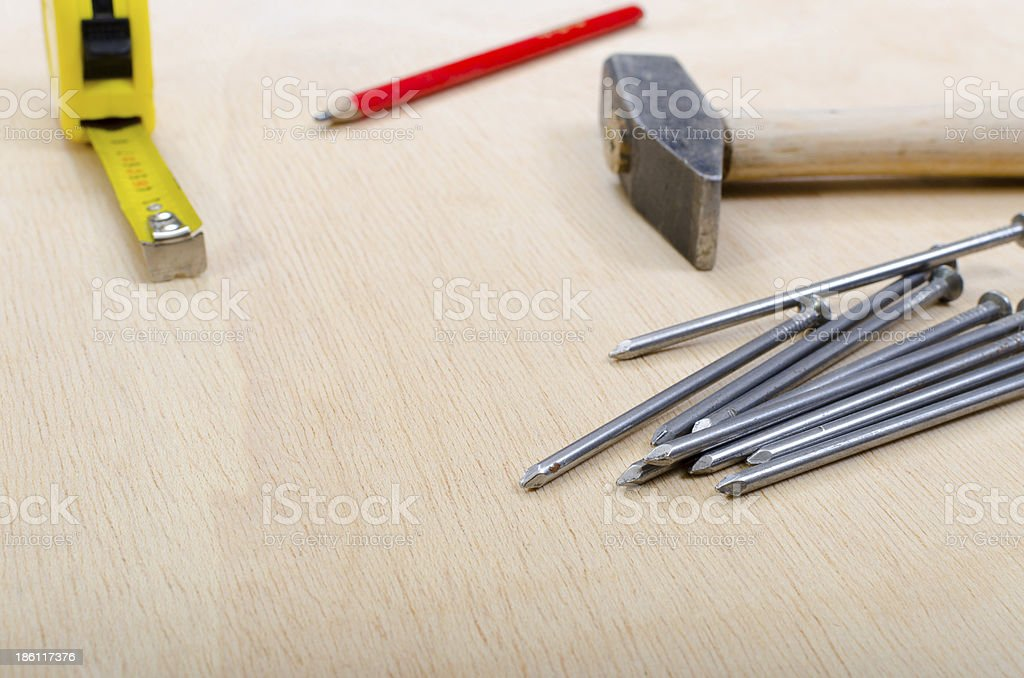 Work tool royalty-free stock photo