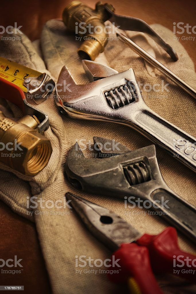 Work Tools royalty-free stock photo