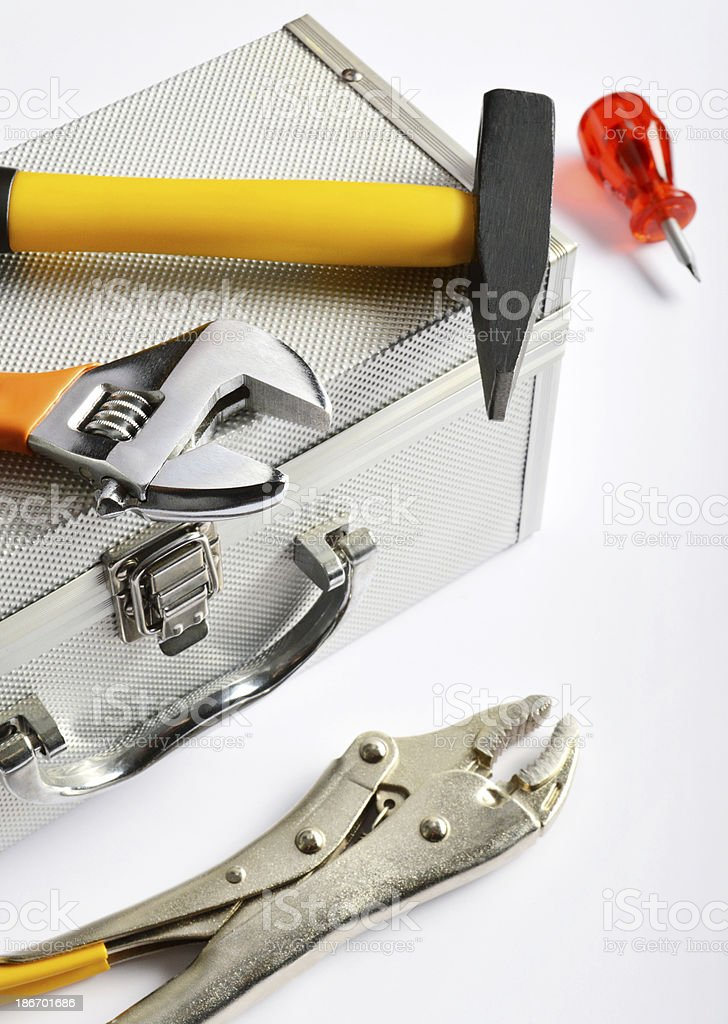 Work Tools (Click for more) royalty-free stock photo