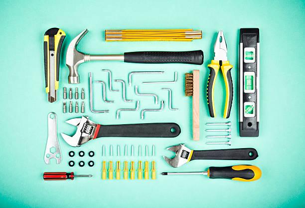 ferramentas de trabalho - ferramenta de mão - fotografias e filmes do acervo