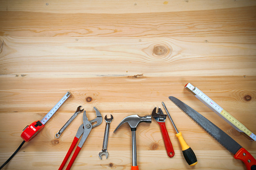 Work Tools Stock Photo - Download Image Now - iStock