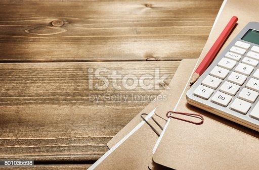 istock Work tools. 801035598