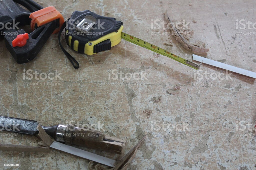 Work tools - Stock Image foto royalty-free