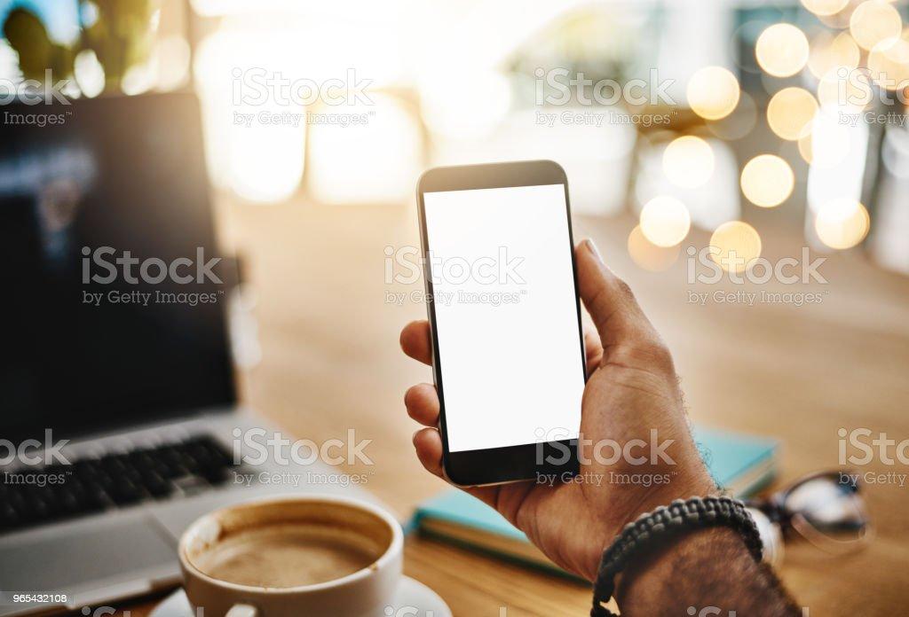 Work with the freedom of wireless technology zbiór zdjęć royalty-free