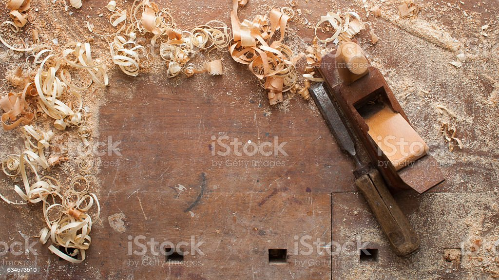 workbench stock photo