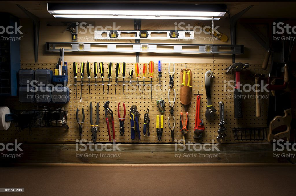 Workbench Series stock photo