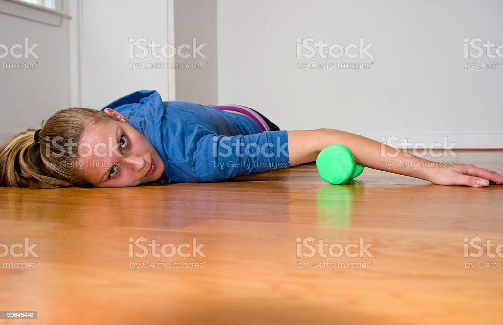 Worked out royalty-free stock photo