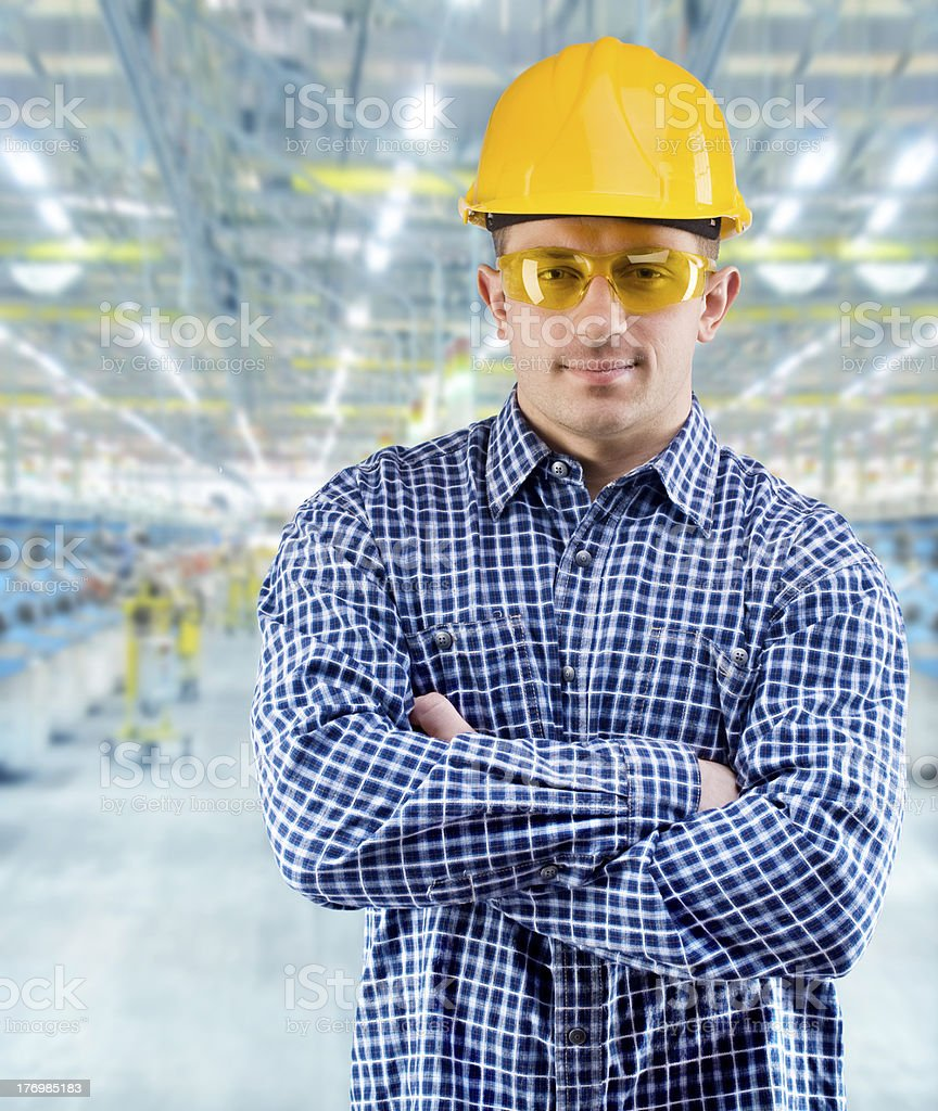 worker at work royalty-free stock photo