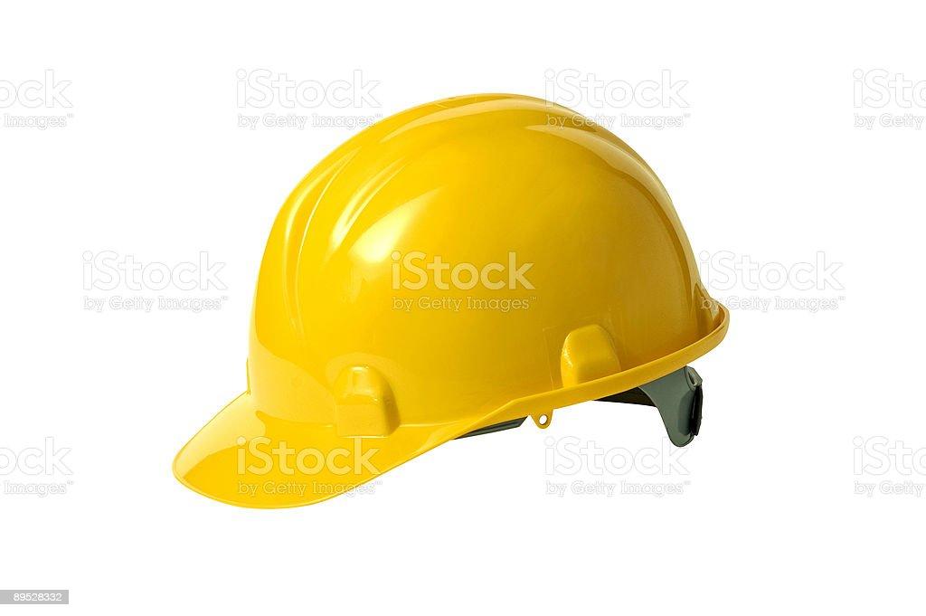 worker helmet royalty-free stock photo