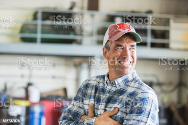 Worker in garage wearing truckers hat picture id856732928?b=1&k=6&m=856732928&s=612x612&h=dmjlauaqh73b1qsgqm8mf03jwhg2s0dtfwnh22fe64m=