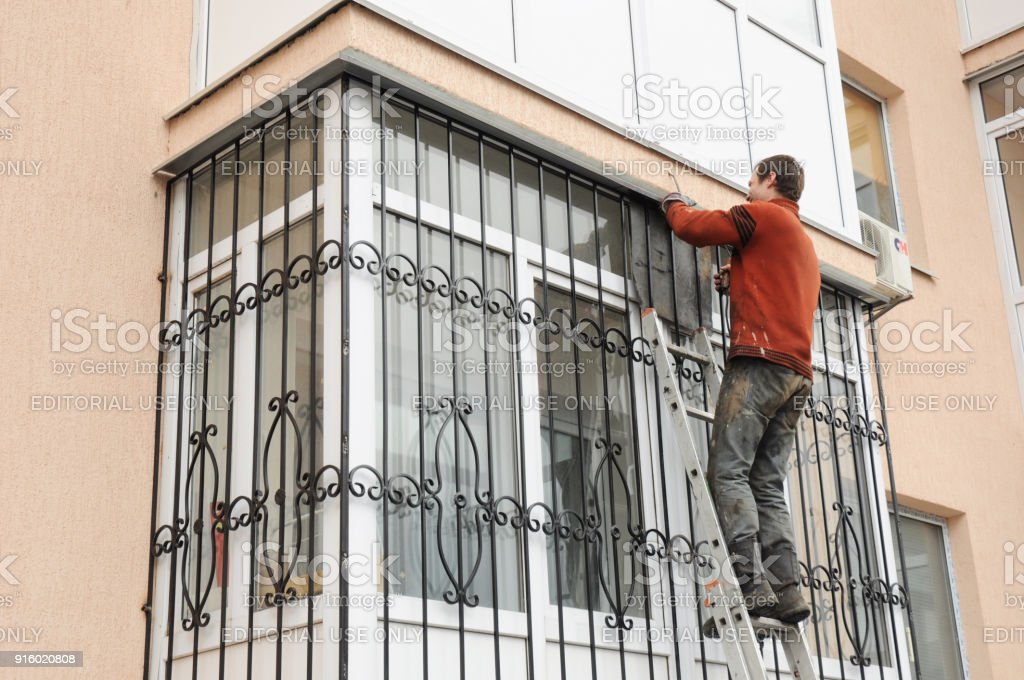 WINDOW SECURITY GRILLES BARS HOUSE OR OFFICE METAL GRILLES