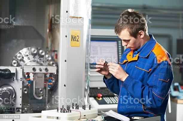 Arbeiter Messen Detail Stockfoto und mehr Bilder von Arbeiten