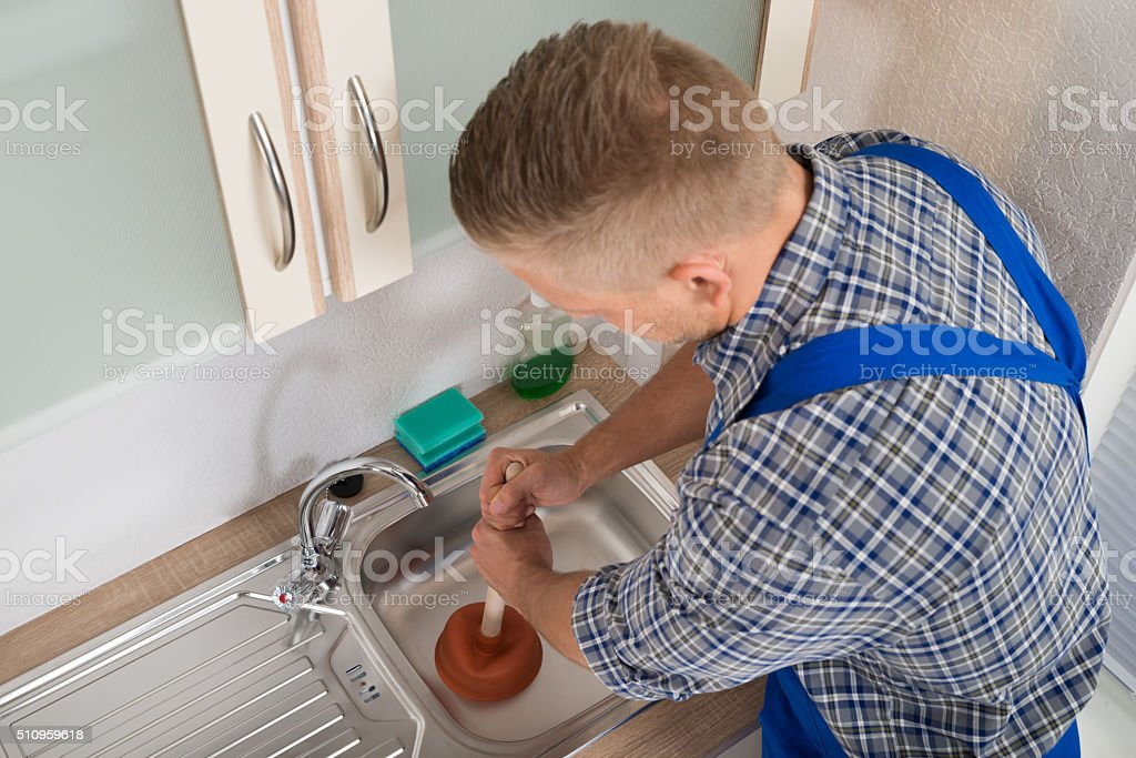 Image result for Drain Cleaning Istock