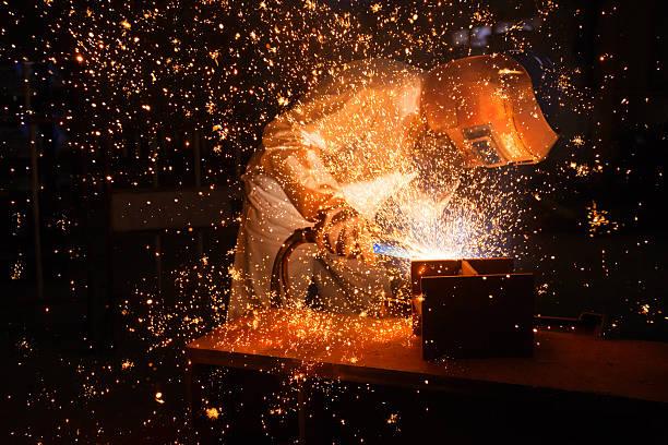 Arbeiter Schweißen – Foto