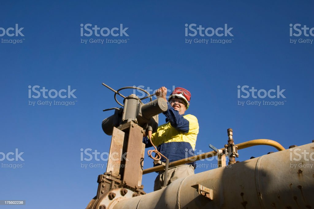 Worker Working royalty-free stock photo