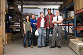 istock Workers in warehouse 533910897
