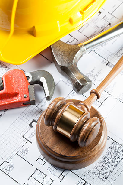 worker's rights. construction defects - defects stock pictures, royalty-free photos & images