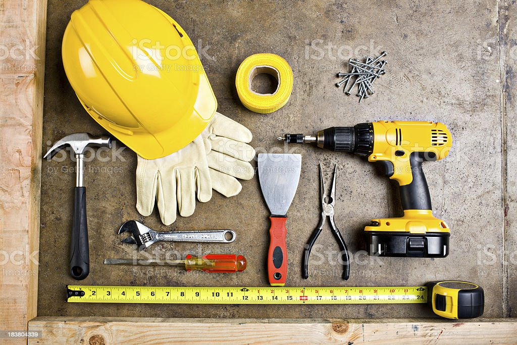Workers tool royalty-free stock photo