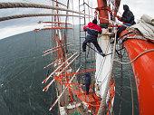 aloft on tallship