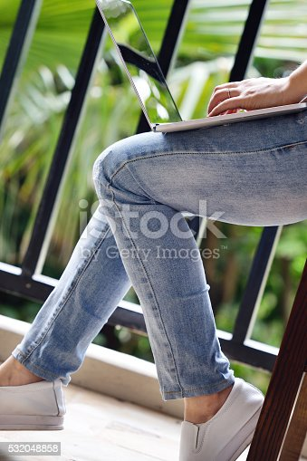 525811918 istock photo Working and Communication 532048858