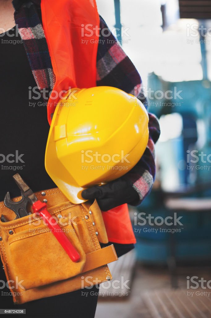 Working and protection tools stock photo