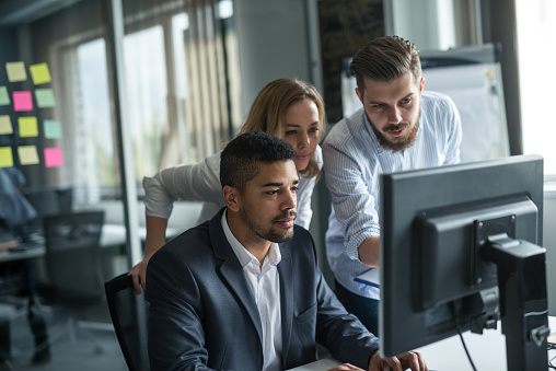Working As A Team Stock Photo - Download Image Now